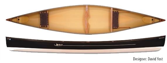 Swift Canoe Keewaydin 17