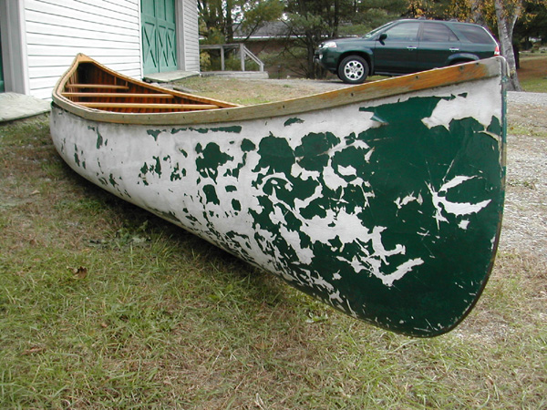 canoes used